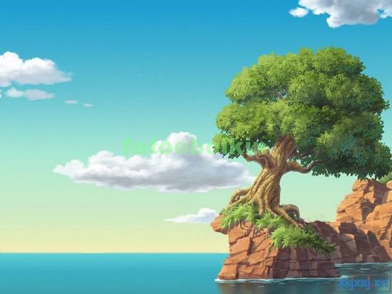 Дерево у моря