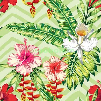Цветы и листья