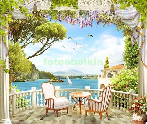 Балкон с видом на бухту