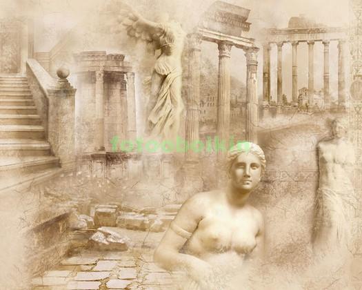 Греческая фреска с Афродитой