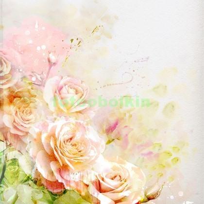 3D букет роз