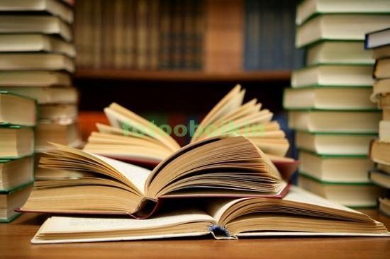 Фотообои Книги и стопки из книг