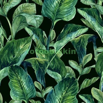 Узор с тропическими листьями