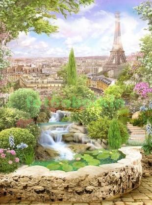 Сад в Париже
