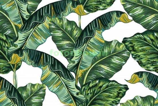 Узор с листьями