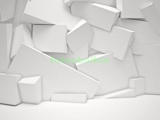 Стена из кубов