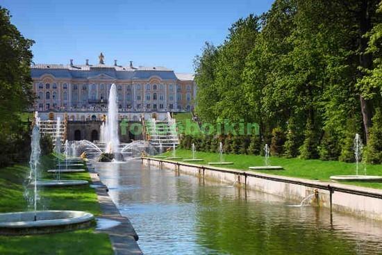 Фотообои Сад в Петергофе