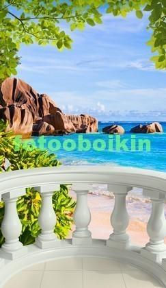 Балкон с видом на южное море