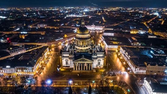 Фотообои Исаакиевский собор вид сверху