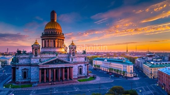 Фотообои Собор в Сакнт-Петербурге