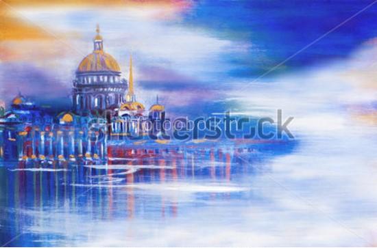 Рисунок Санкт-Петербург