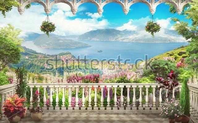 Балкон на горы