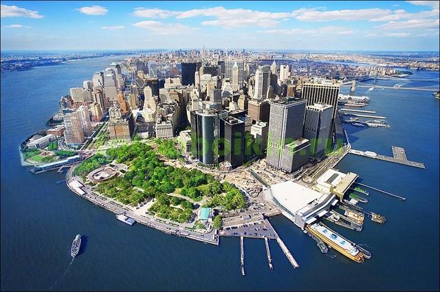 Вид на NY