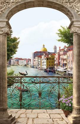 Балкон с видом на Венецию