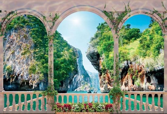 Вид на Тйские острова