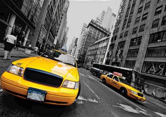 Желтое такси в NY