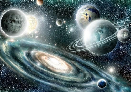 Космос со звездами