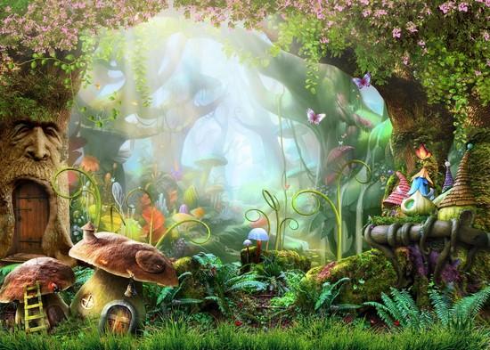 Фотообои Чудесный лес