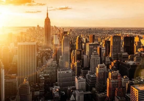 Фотообои Солнечный Нью-Йорк