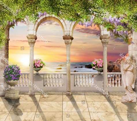 Балкон с узорами