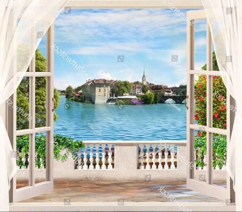 Балкон с видом на Афины