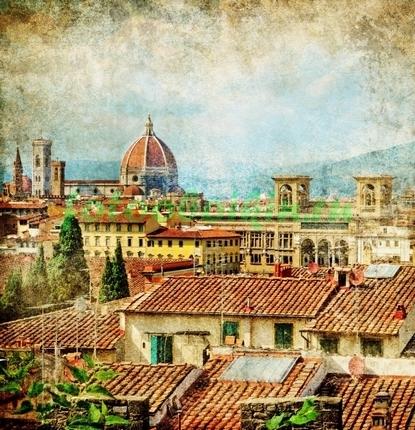 Флоренция фреска