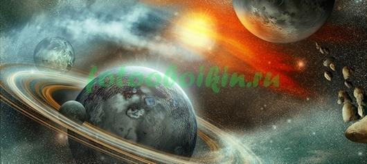 Сатурн и спутники