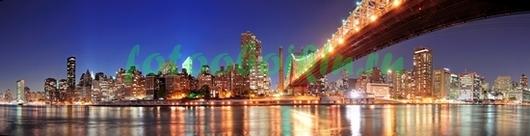 Яркий свет ночного города