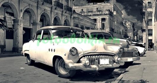 Кубинские машины негатив
