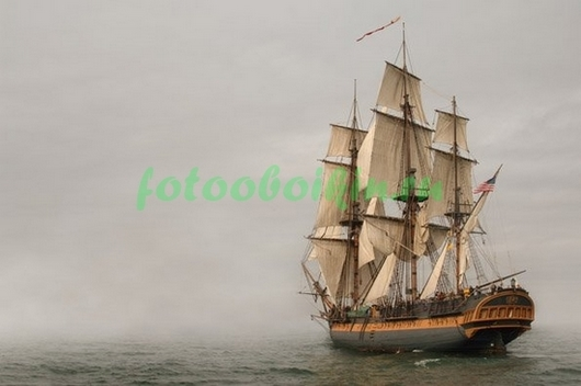 Корабль в тумане