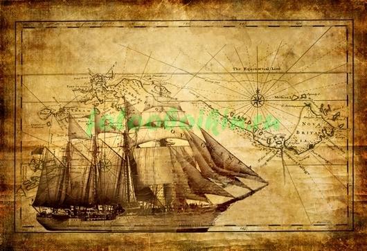 Корабль на карте
