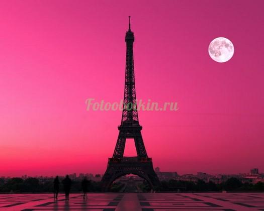 Очень красивый веччер в Париже