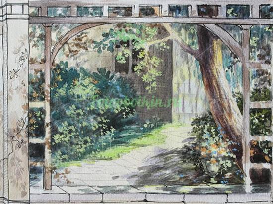 Белая арка