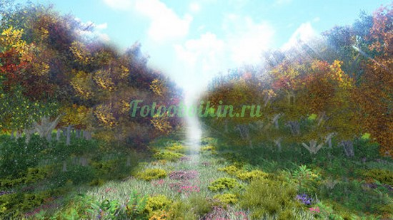 Сказочная аллея