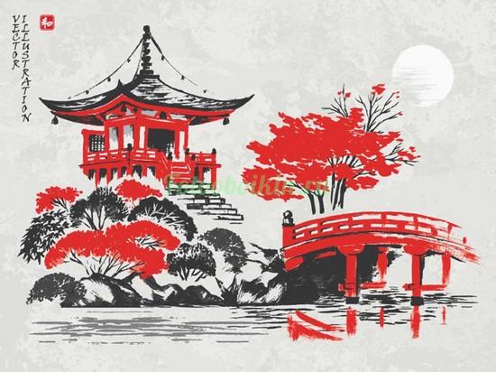 Японская беседка