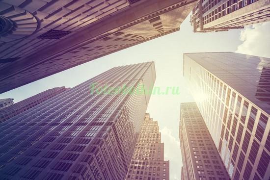 Днем под небоскребами