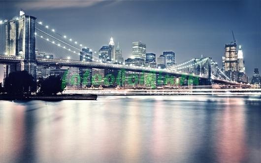 Нью-Йорк в пастельных тонах