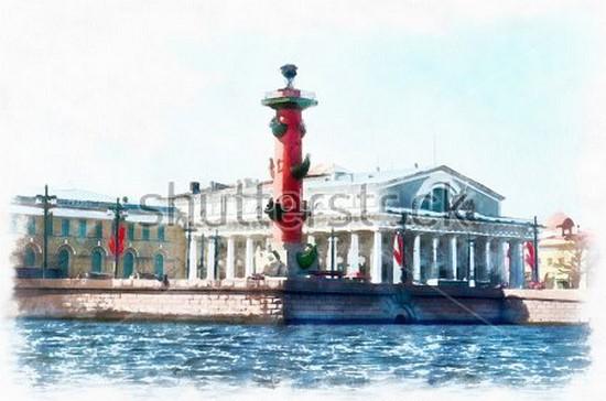 Рисунок Санкт-Петербурга