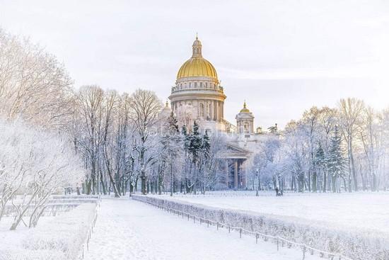 Исаакиевский зимой