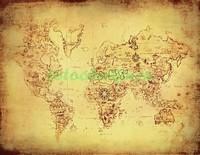 Выцвевшая карта