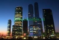 Ночной небоскреб