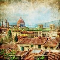 Вид на крыши Рима