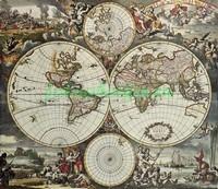 Карта гобелен