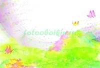 Бабочки над лугом