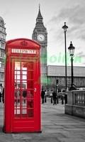 Лондон телефонная будка