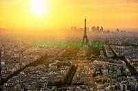 Закат над Парижем