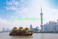 Шанхай вид со стороны реки