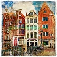 Старое фото Амстердам
