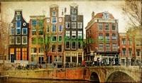 Винтажная фотография Амстердама