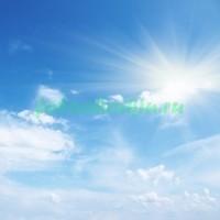 Солнце в небе